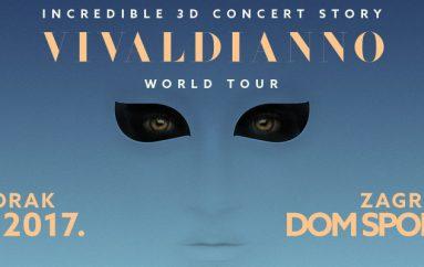 3D glazbeno-scenski spektakl Vivaldianno dolazi u Hrvatsku