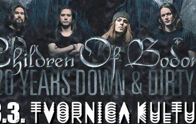Uz Children of Bodom nastupaju još dvije nove metal atrakcije