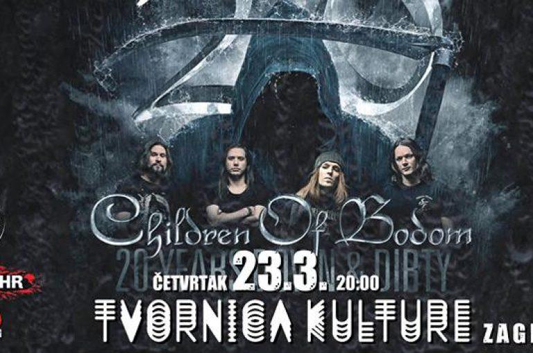 Children of Bodom 23. ožujka u Zagrebu obilježavaju 20 godina od prvog albuma