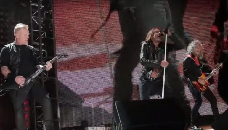 Ono kada se Iggy Pop pridruži Metallici na pozornici