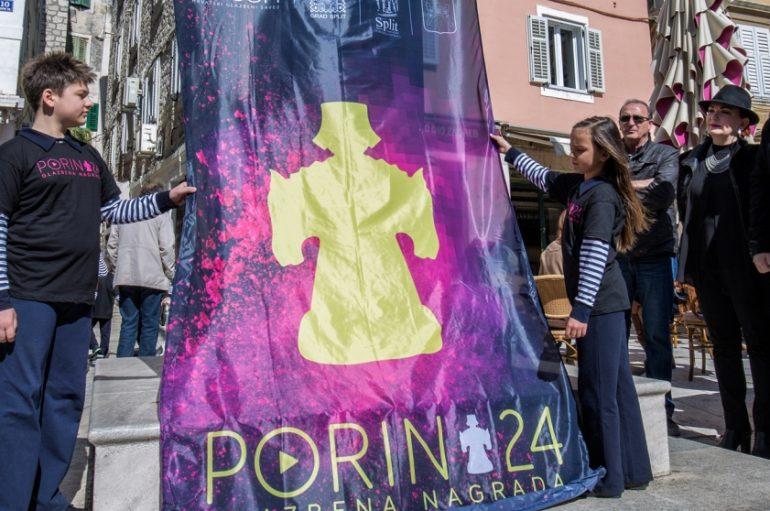 Podizanjem zastave na splitskoj Pjaci službeno započeo Tjedan Porina