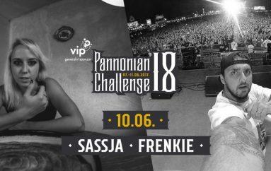 Frenkie i Sassja zapalit će stage Pannonian Challengea