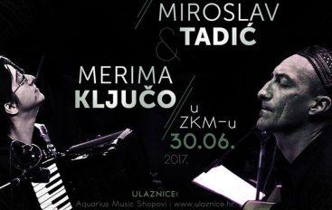 Merima Ključo i Miroslav Tadić krajem lipnja u ZKM-u