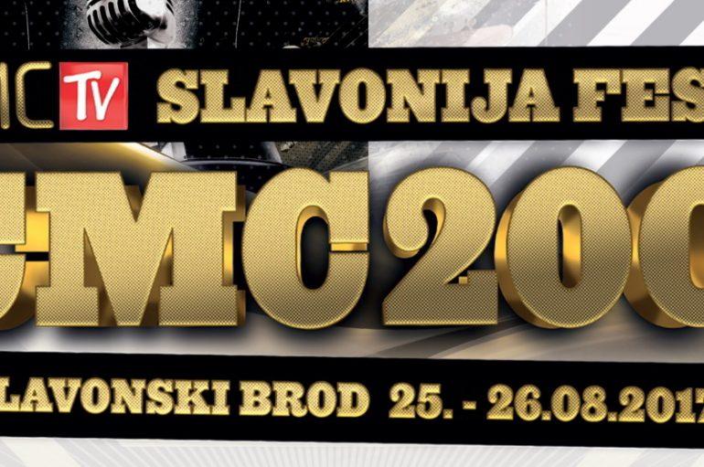 Za sedam dana CMC200 Slavonija fest u Slavonskom Brodu uz brojne glazbene zvijezde