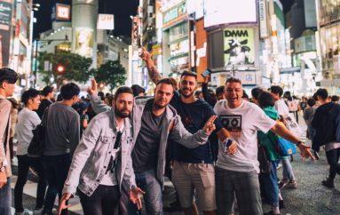 Frenkie, Kontra i Indigo snimaju novi materijal u Tokiju