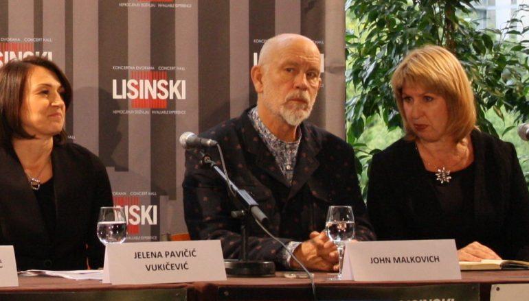 """John Malkovich u Lisinskom: """"Uvijek sam uživao u Hrvatskoj, ali neću spominjati mjesta jer se neću moći vratiti u miru"""""""