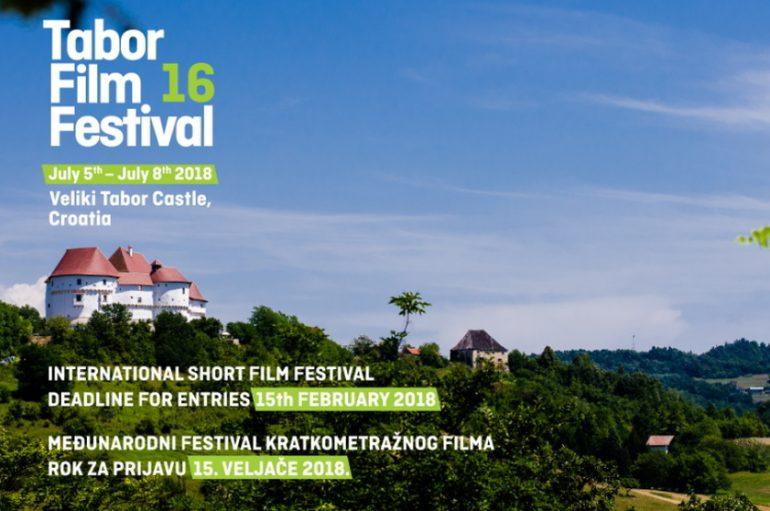 Otvorene prijave za filmove na 16. Tabor Film Festivalu!