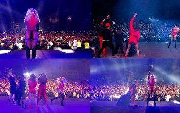 POVIJESNI TRENUTAK: Rita Ora održala koncert u Prištini ispred 300 tisuća ljudi!