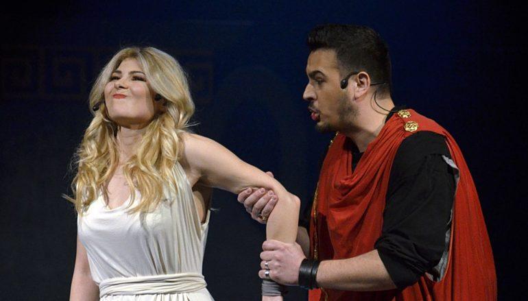 """IZVJEŠĆE/FOTO: Publika ovacijama nagradila žestoki kazališni mjuzikl """"Antigona – prockletstvo roda"""""""