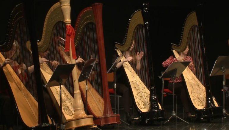 Ljepota harfe u Lisinskom – zvuk tisuću žica