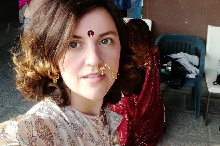 Maja Posavec zaplesala indijski ples na krovu nebodera
