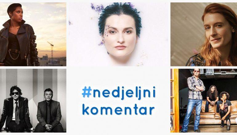 #nedjeljnikomentar: Alice In Chains, Florence + The Machine, J Hud, Manic Street Preachers, Nina Romić