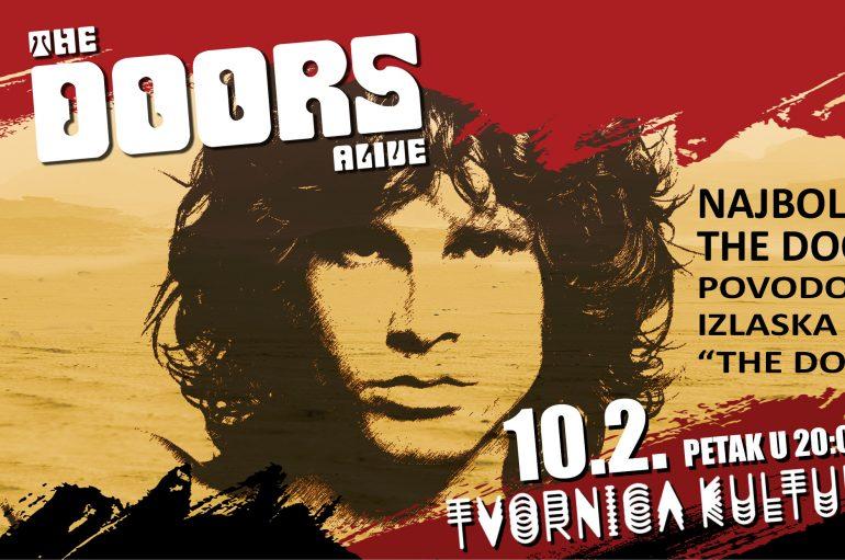 The Doors Alive stižu u Tvornicu kulture povodom 50 godina od prvog Doors albuma