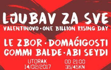 """Vodimo vas na koncert Damira Kedže u Tvornici kulture i na """"Ljubav za sve"""" u Saxu!"""