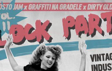 DRUGI PROLJETNI BLOCK PARTY: Graffiti Na Gradele i Ferragosto Jam ispred i u Vintageu