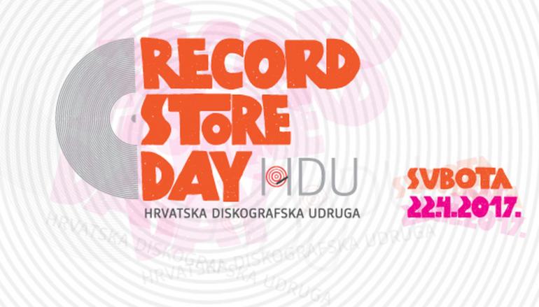 RASPORED: Pogledajte što sve možete vidjeti i čuti na Danu prodavaonica ploča