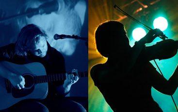 Ivan Škrabe u bendovskoj postavi i Mika Male skupa u Vinylu