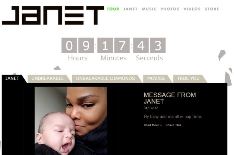 Web stranica Janet Jackson počela misteriozno odbrojavati