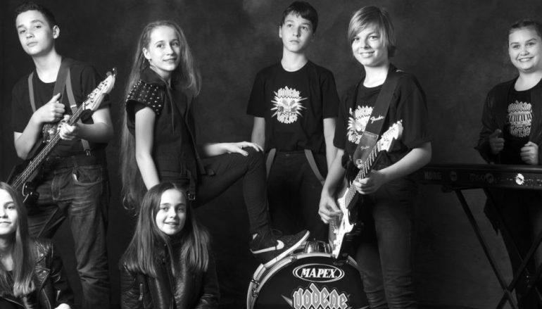 Vodene kozice – prvi hrvatski dječji rock bend objavio prvi autorski singl