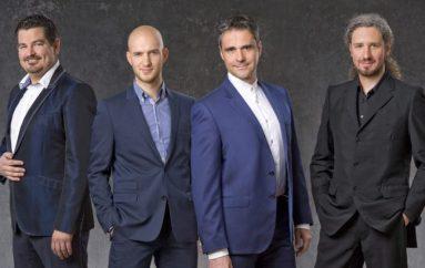 Četiri tenora otvorila Solinsko kulturno ljeto i započela ljetnu turneju!