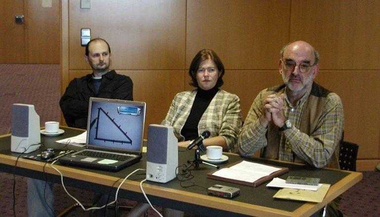 Antun Toni Blažinović s Glazbenom mjerom trokuta u Tvornici kulture