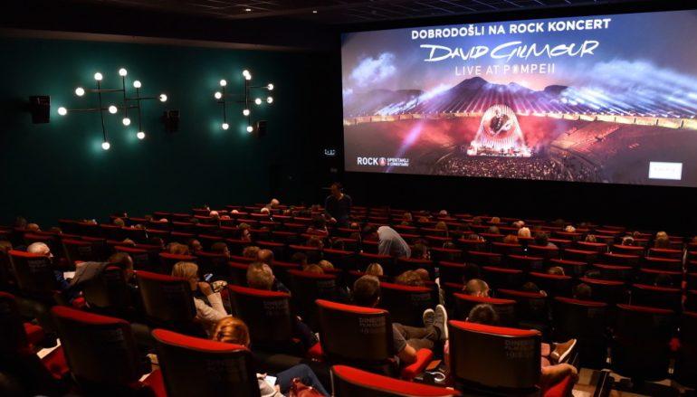 Koncert Davida Gilmoura u kinima – rasprodan jedinstveni rock spektakl