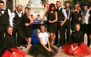 Great Gatsby, plesni spektakl u Areni najavljen plesom usred Zagreba!