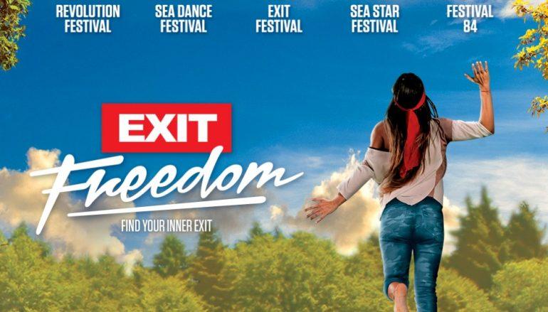 """EXIT šalje globalnu poruku sa svih pet festivala u 2018. godini: """"Izlaz je sloboda!"""""""