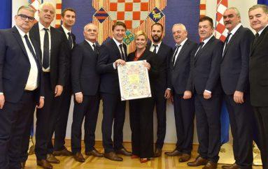 Klapi Intrade predsjednica Kolinda Grabar-Kitarović uručila Povelju Republike Hrvatske –