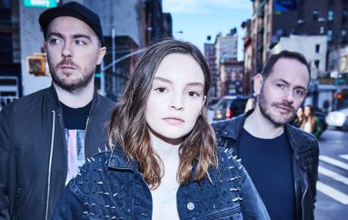 "Škotski synth-pop bend CHVRCHES predstavlja potpuno novi singl ""Get Out""."