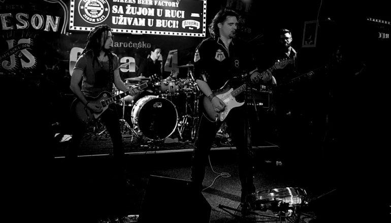 Žestoki koncert hard rock benda Cota G4 dostupan online!
