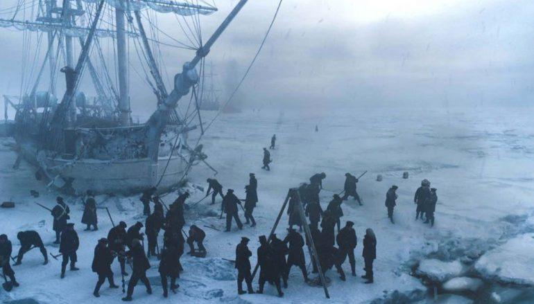 """Pag okovan snijegom i ledom u seriji """"The Terror"""" u produkciji Ridleyja Scotta"""