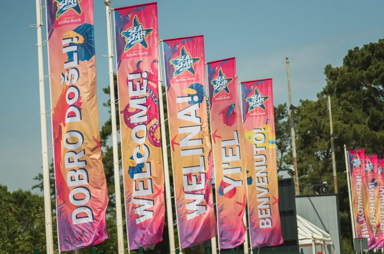 Počeo 2. Sea Star Festival – večeras u Umagu Robin Schulz, Van Dyk i moćni hip hop line up