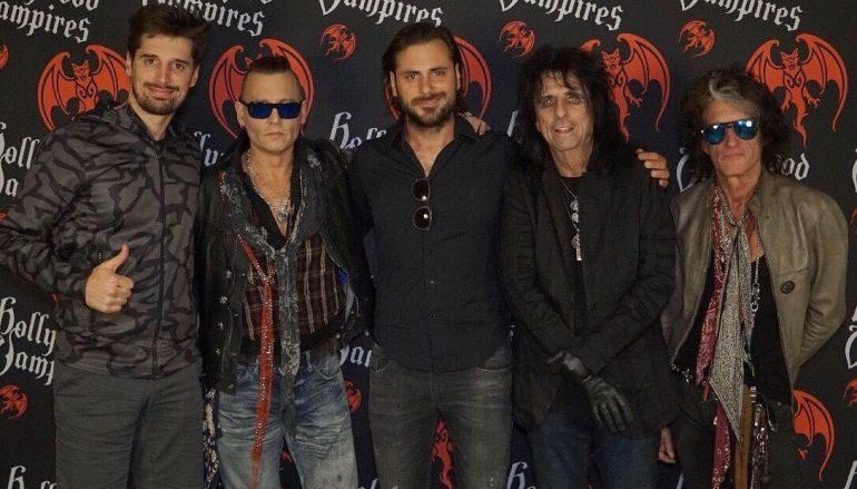 Johnny Depp, Alice Cooper i Joe Perry pozvali 2CELLOS na svoj koncert