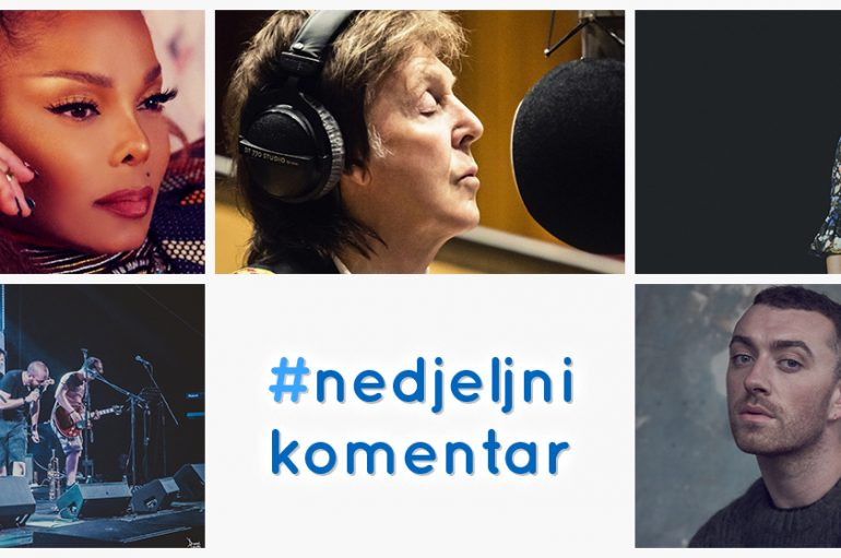 #nedjeljnikomentar: Calvin Harris & Sam Smith, Cat Power & Lana Del Rey, Detmeć, Janet Jackson, Paul McCartney
