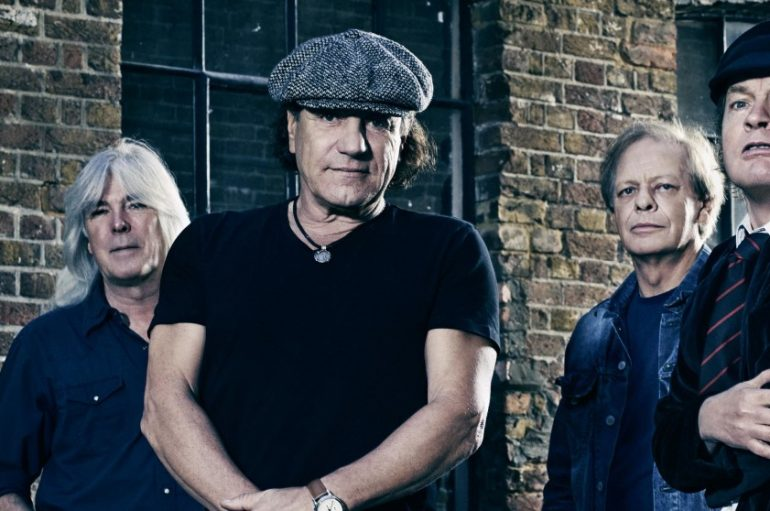 BACK IN BLACK: Brian Johnson se vratio u AC/DC koji rade na novom albumu!