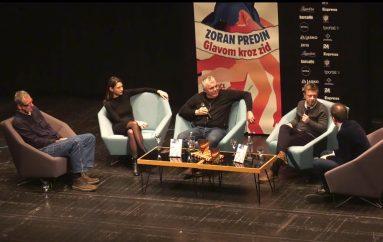 "Zoran Predin predstavio knjigu ""Glavom kroz zid""  i najavio novi album ""Zoran pjeva Arsena"""