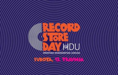 Hrvatska se i ove godine pridružuje obilježavanju Dana prodavaonica ploča