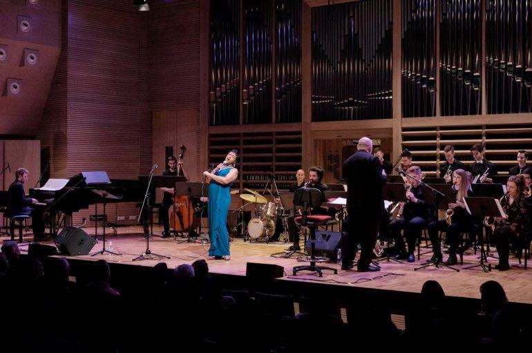 FOTOGALERIJA: Jazz orkestar Muzičke akademije i Vanessa Rubin briljirali na festivalu Jazz.hr/proljeće