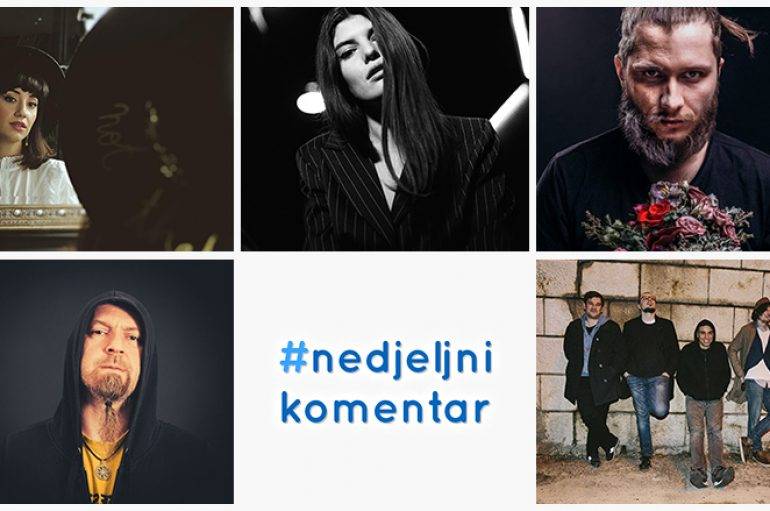 #nedjeljnikomentar: Lovely Quinces, Lu Jakelić, Mahkey, (The) Lesser Men, Vedran Ivorek