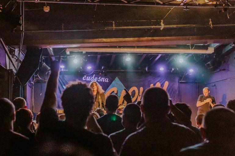 FOTOGALERIJA: Disciplin A Kitschme nakon četiri godine ponovno svirala u Močvari