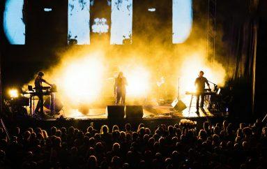 FOTOGALERIJA: Laibach nastupio na parkiralištu MSU-a u sklopu Ljeta u MSU
