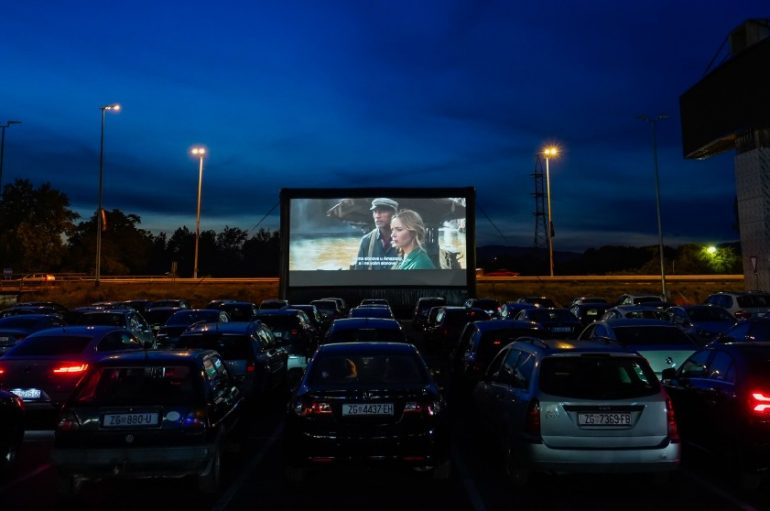 Veliki interes za Cinestar pop up drive-in kino u Zagrebu