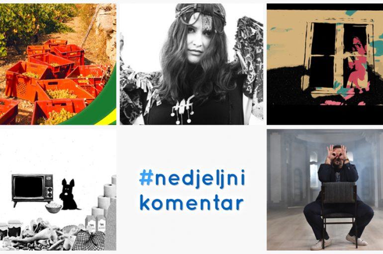 #nedjeljnikomentar: Banana zvuk i Kandžija, Dino Šoše, Kiper, Nina Romić ft. Rebel Star, She Loves Pablo