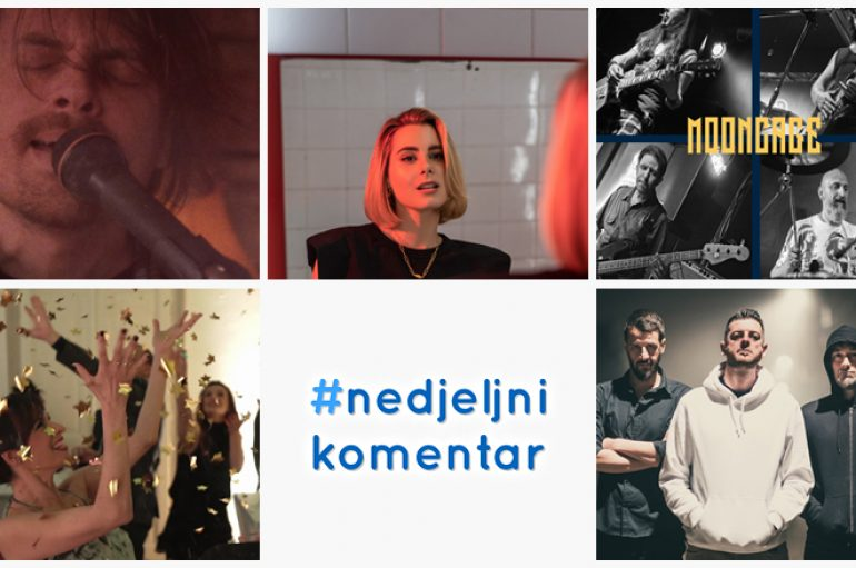 #nedjeljnikomentar: Kevlar Bikini, Malady Lane, Mixed Up Mary, Mooncage, Nika Turković