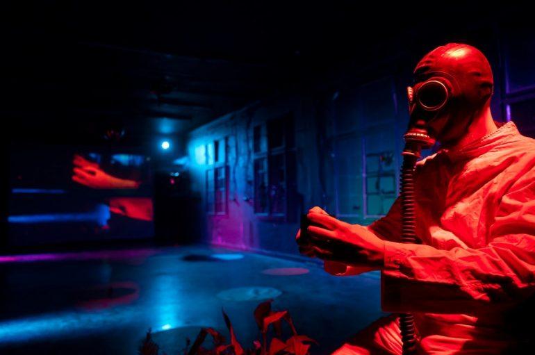 Antikorona 'hepening' u klubu Močvara