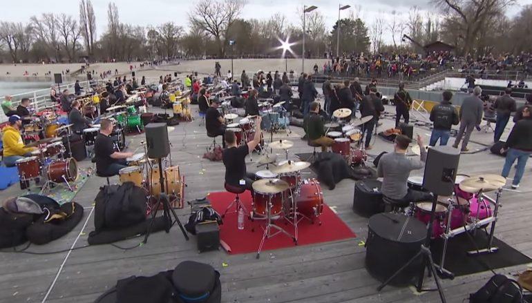 "VIDEO: 50 glazbenika okupilo se na zagrebačkom Bundeku za ""Treba imat dušu"""