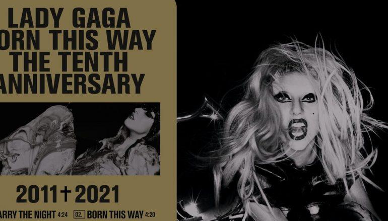 """Lady Gaga slavi 10 godina albuma """"Born This Way"""" luksuznim izdanjem"""