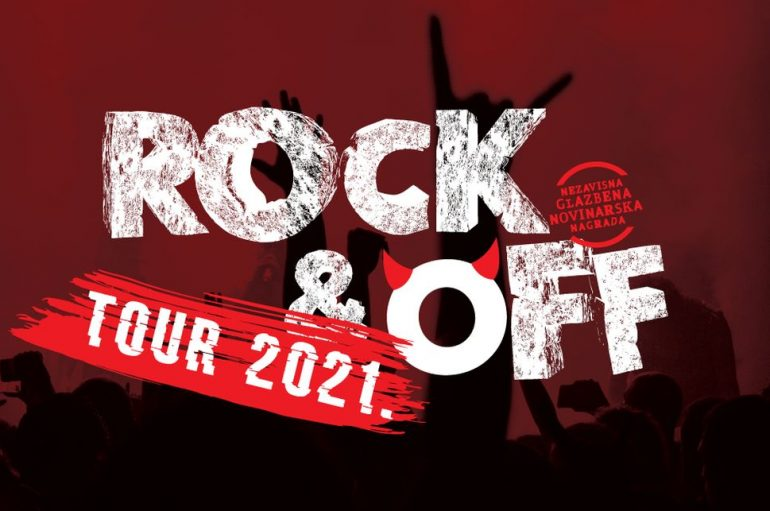 Rock&Off Tour kreće iz Đakova prema Kutini, Jelsi, Samoboru, Kninu i Umagu