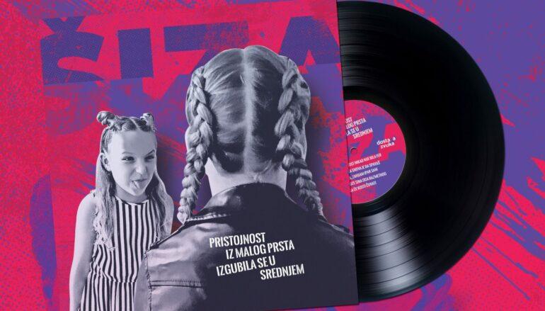 "Prvi album Šize ""Pristojnost iz malog prsta izgubila se u srednjem"" od sada na vinilu"